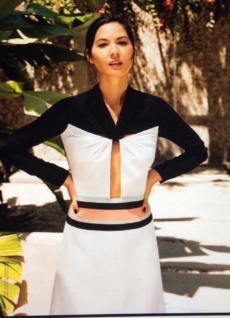 blouse black and white blouse vouge fashion