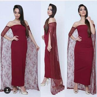 dress burgundy dubai abayas evening dresses with vintage lace cowl cloak arabic dresses prom 2015 plus size formal party dress vestido de festa burgundy dubai abayas evening dresses burgundy evening dresses abayas evening dresses cowl back plus size formal party dress plus size evening dresses wrap