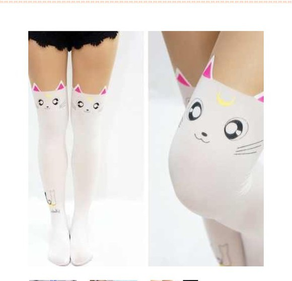 stockings socks sailor moon sailor moon