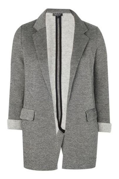 Topshop blazer grey jacket