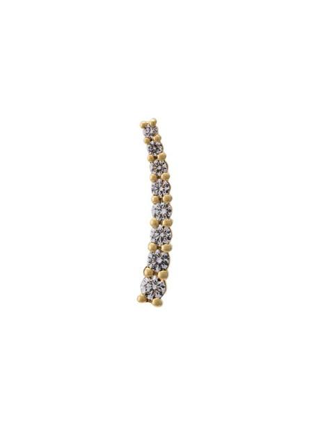cuff women gold yellow grey metallic jewels