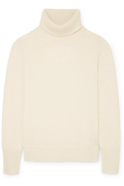 Burberry - Cashmere Turtleneck Sweater - Ivory