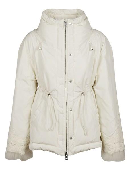 Ermanno Scervino jacket fur white