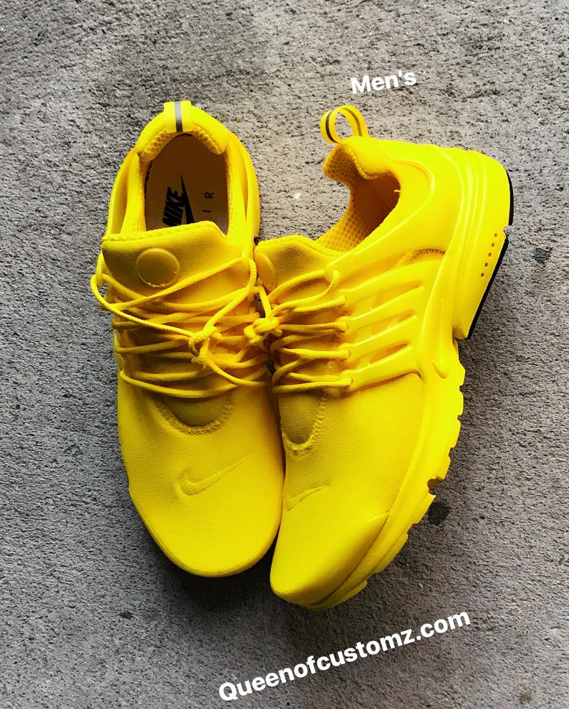 a54fdce093ba5b Sunshine Yellow Nike Presto custom