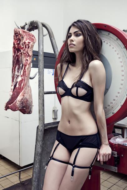 084e776fe01 underwear, sexy, lingerie, black underwear, cut-out, black lingerie ...