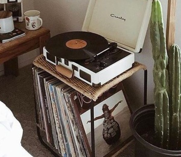 home accessory vinyl record player table home decor accessories