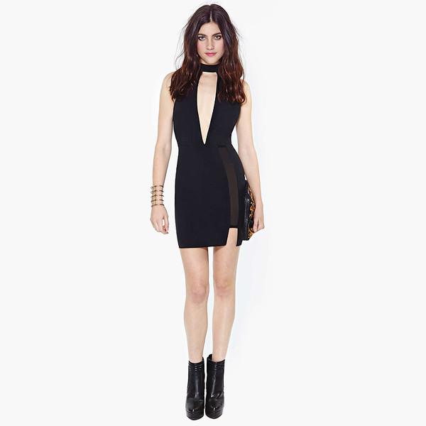 dress sexy black dress fashion little black dress