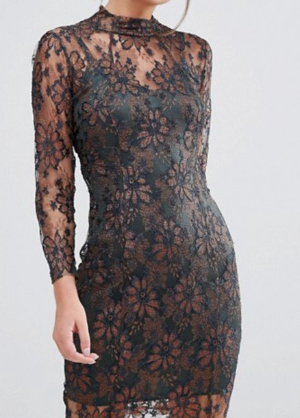 dress black lace dress black dress backless