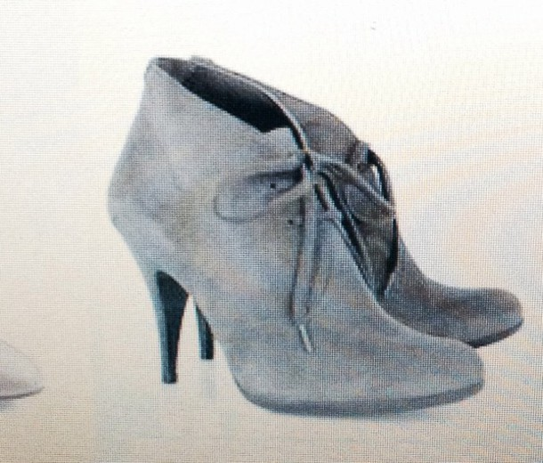 shoes shoes grey anklebooties