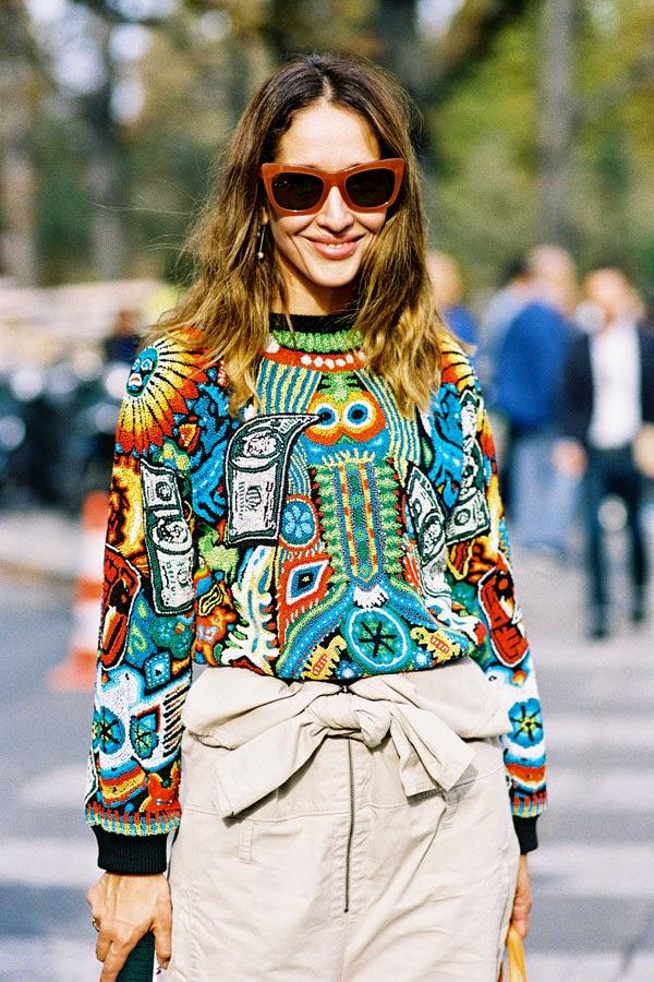 Vanessa jackman: paris fashion week ss 2015....tiany