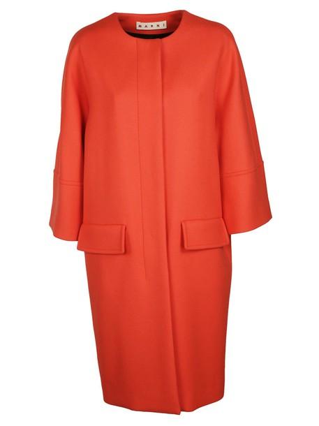 MARNI coat red