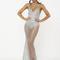Glitter maxi split dress