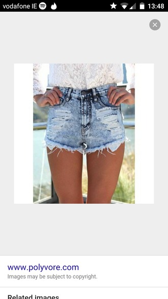 shorts blue acid washed shorts distressed denim shorts distessed jeans ripped