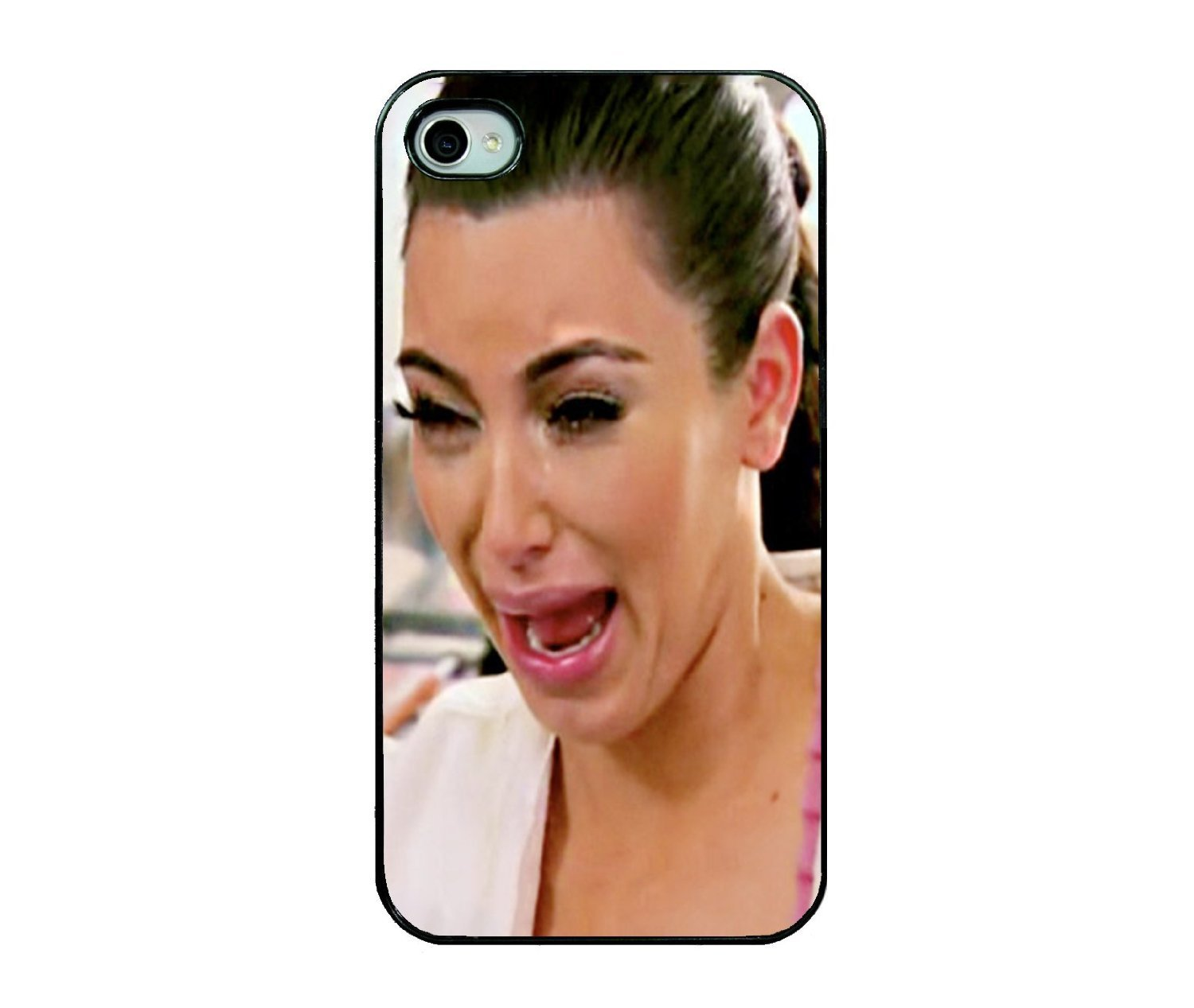 Amazon.com: Kim Kardashian Crying IPhone Case - IPhone 5 Case - Black: Cell Phones & Accessories