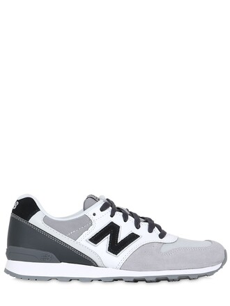 suede sneakers sneakers suede black grey shoes