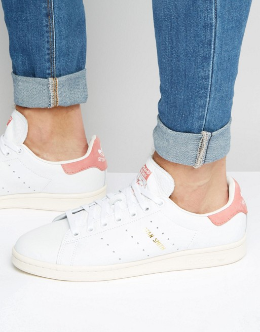 adidas Originals Stan Smith Sneakers In White S80024 at