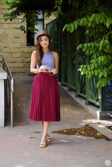 kryzuy shoes jewels blogger skirt top