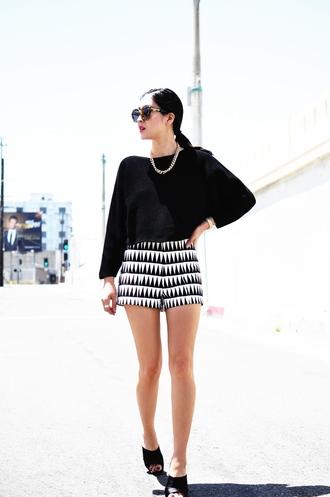 her imajination sweater shorts sunglasses jewels bag shirt shoes