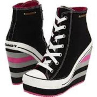 shoes kawaii style platform