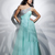 Buy Gorgeous Blue One-shoulder Empire Waist Chiffon Homecoming Dress under 200-SinoAnt.com