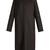 Malma collarless wool-blend piqué coat