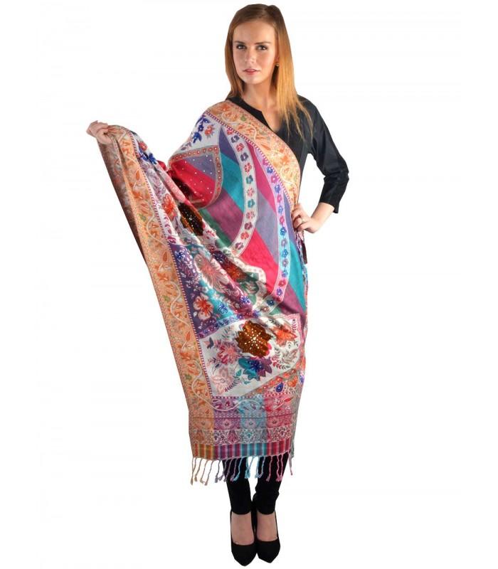 Buy Woolen Shawls, Scarves Online @ best price at Uptowngaleria