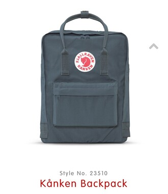bag style backpack love fjallraven kanken grey purple style scrapbook school bag back to school tumblr tumblr girl tumblr style where did u get that