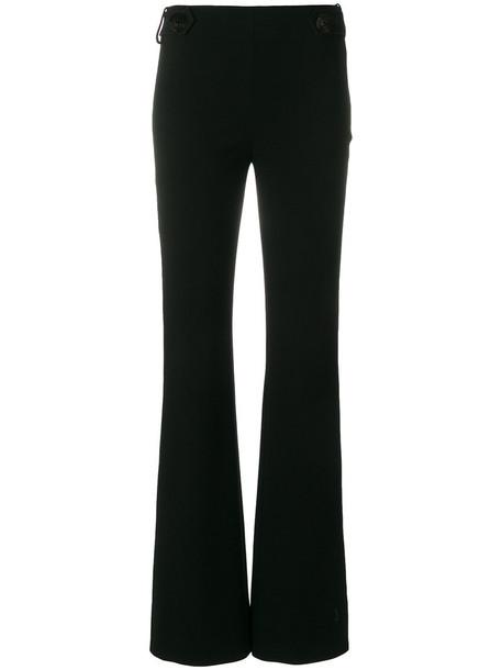 women spandex embellished black pants