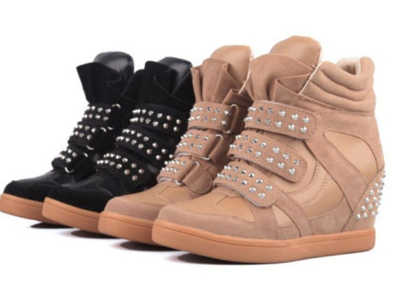 shoes sneaker wedges