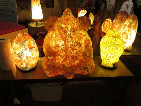 elephant light lamp home decor