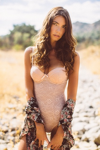 bodysuit lace underwear lingerie boho boho style
