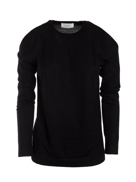 Snobby Sheep jumper classic black sweater