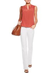 jeans,white denim,white jeans,flare jeans