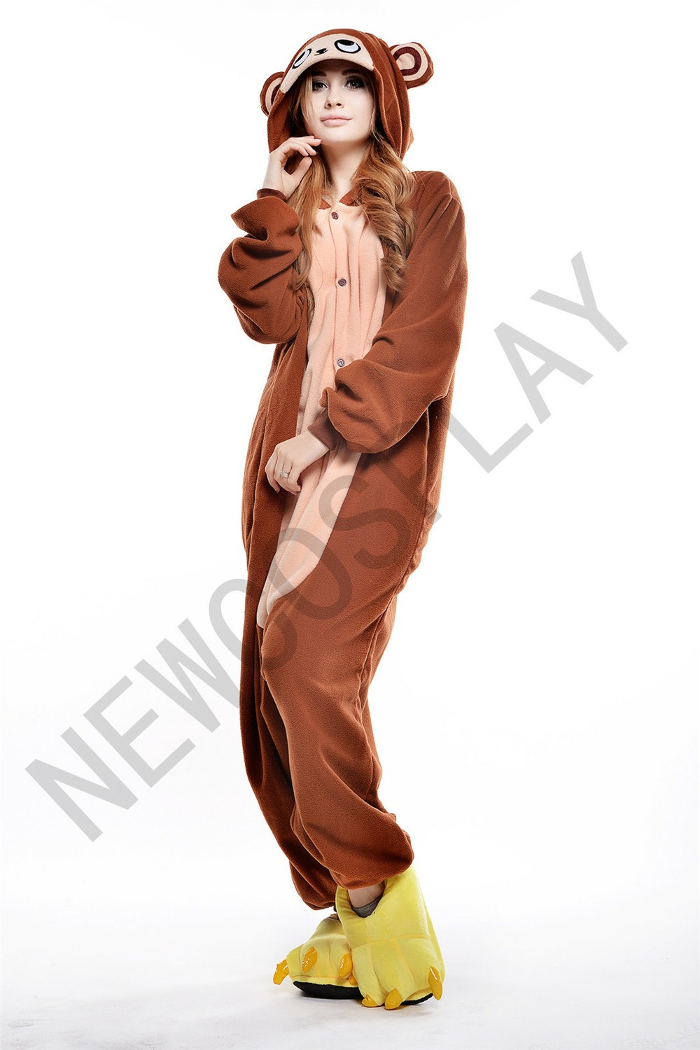 COFFEE MONKEY ONESIE by NEWCOSPLAY ONESIE
