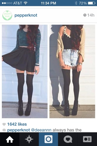 shoes shoes black grunge flat skirt underwear shirt t-shirt shorts heels wedges