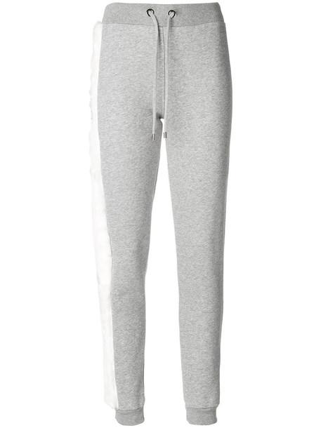 Philipp Plein - Rivington Street jogging trousers - women - Cotton/Polyester - S, Grey, Cotton/Polyester