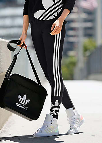 new styles 211a9 522c3 Low Rise 3 Stripe Leggings By adidas Originals   Look Again