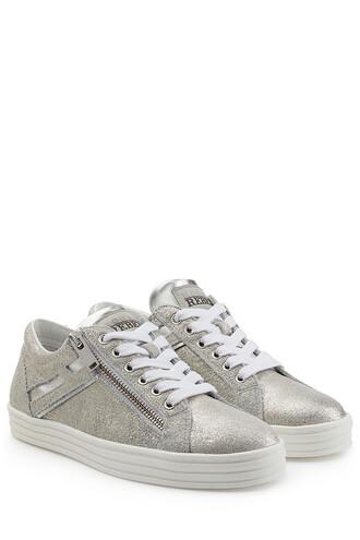 suede sneakers metallic sneakers suede silver shoes