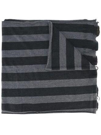 women mohair scarf wool grey