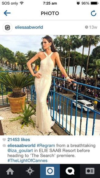 bodycon dress dress formal dress formal gown long dress white dress cream prom dress, white, open back, long nude nude dress