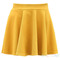 Women's lady's candy color waist pleated jersey skater flared mini skirts b75u | ebay