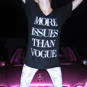 More issues than vogue  — nikki lipstick