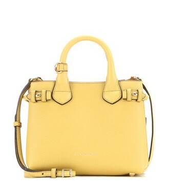 baby bag shoulder bag leather yellow