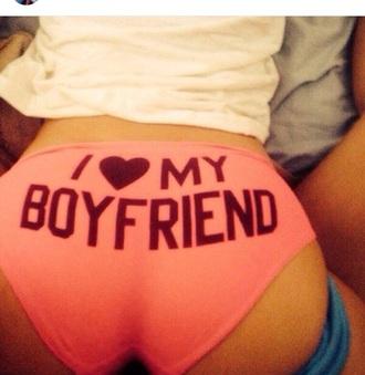 underwear i love my boyfriend cute underwear hot pink underwear pink underwear hot underwear want this underwear undies