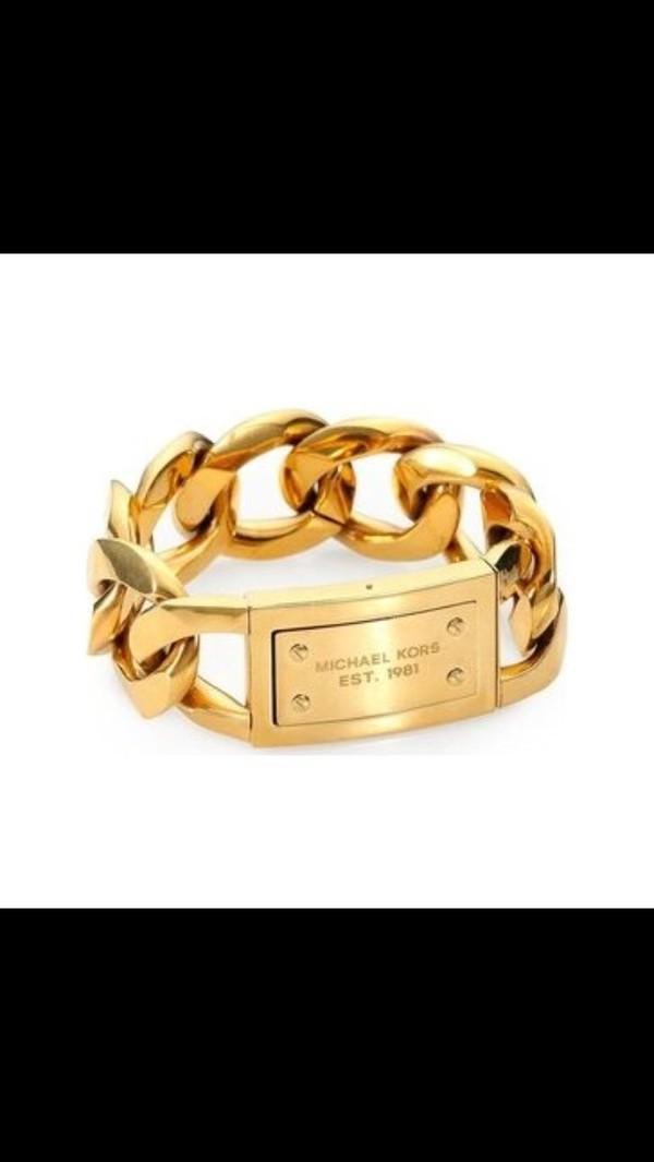 jewels michael kors bracelet michael kors gold armband bralette bracelets
