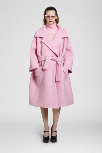 coat carven lookbook fashion