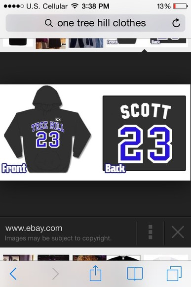 one tree hill sweater