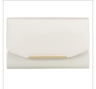 bag white clutch