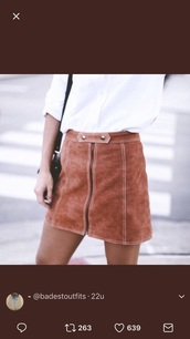 skirt,mini skirt,pencil skirt,pleated skirt,denim skirt,suede skirt,suede,camel suede skirt,camel,brown,fall outfits,fall skirt
