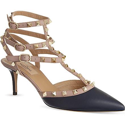 VALENTINO - Rockstud leather courts | Selfridges.com